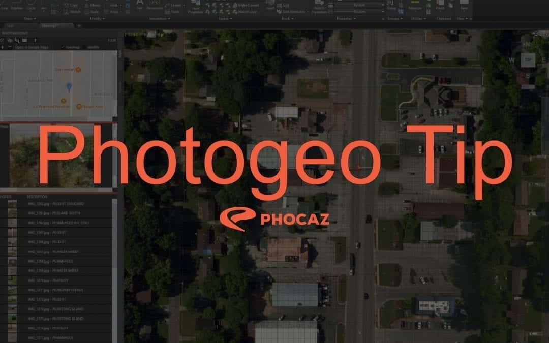 Photogeo Tip 6 – FAQ #13 Where are my photos?