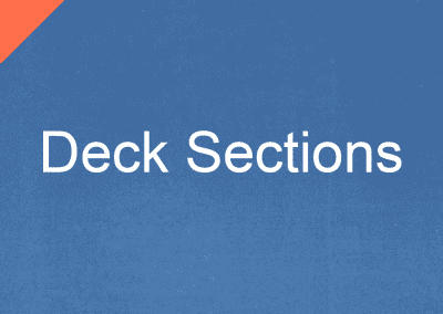 Deck Sections​