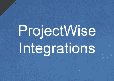 ProjectWise Integrations